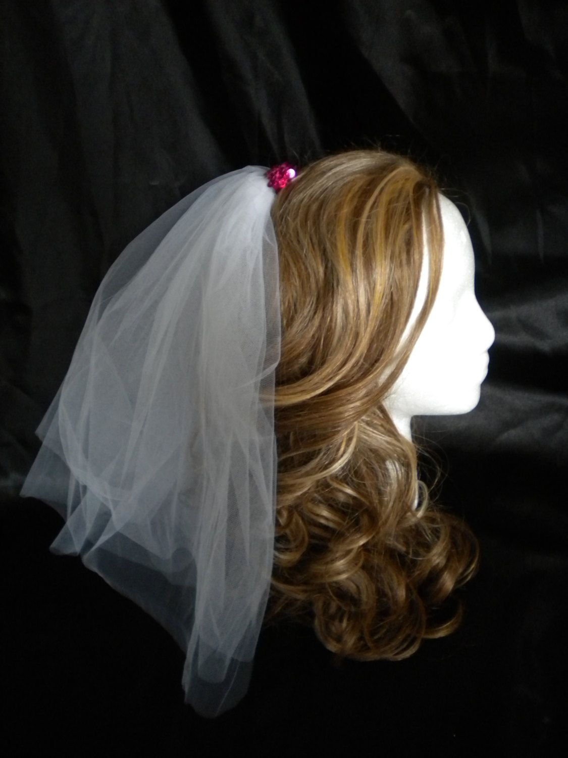 f272ac853a3 FOR ME  Bachelorette+Party+Veil+by+studiolmichelle+on+Etsy