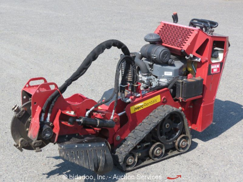 how to use a toro stump grinder