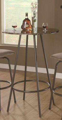 MonarchSpecialtiesMetalDiameterBarTableInchCappuccino - 30 inch diameter coffee table