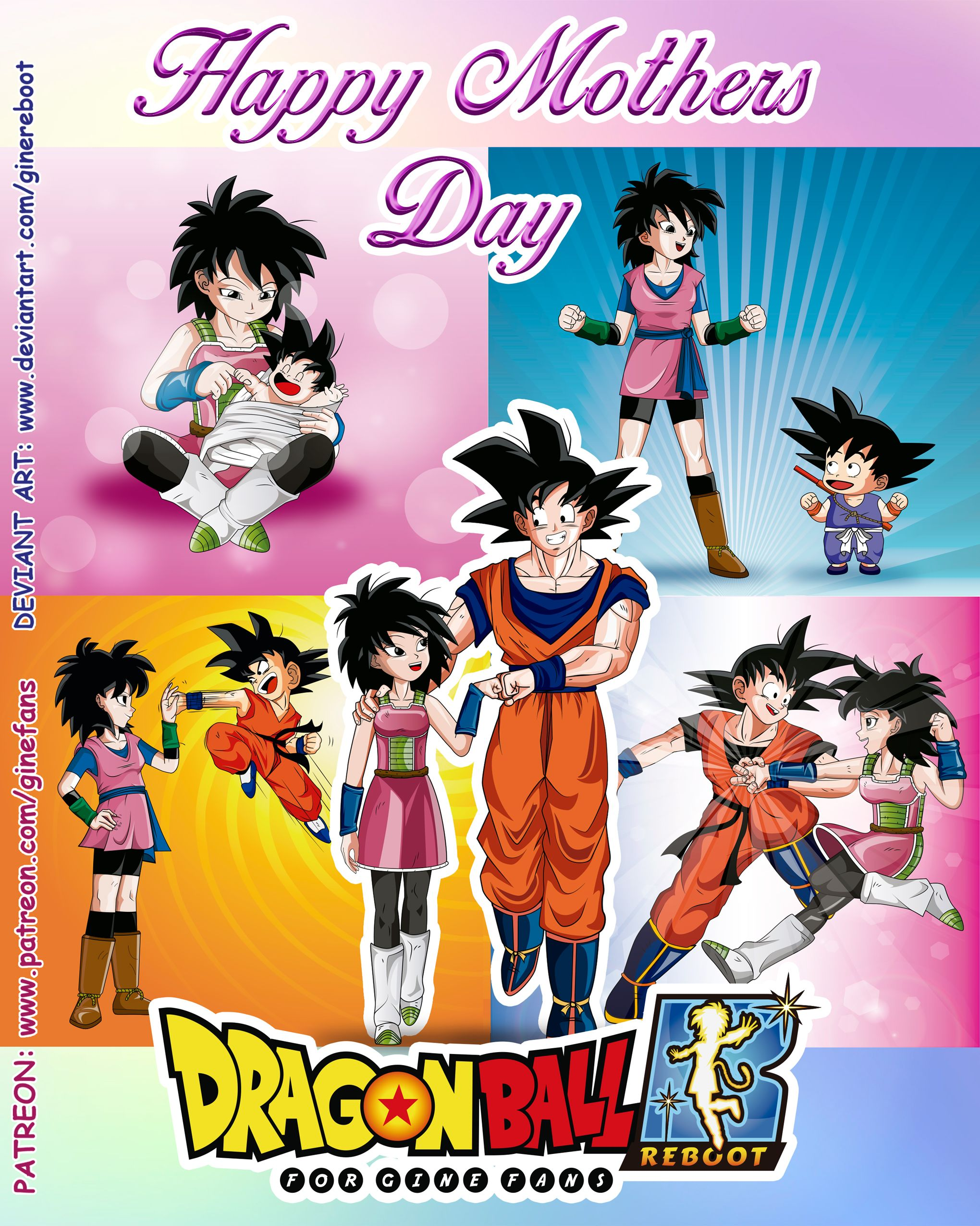 Gine Dragon Ball Reboot Is Creating For Gine Fans Patreon Dragon Ball Artwork Dragon Ball Art Anime Dragon Ball Super