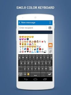 Get stylish keyboard that supports smiley and emoticons at