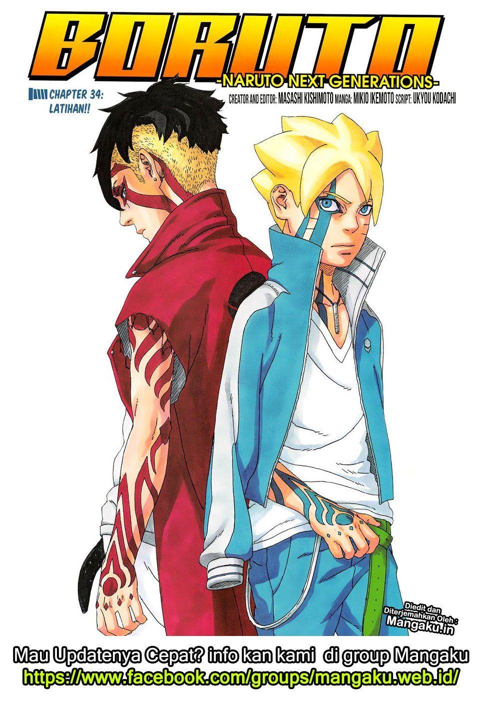 Boruto Manga Indo : boruto, manga, Komik, Boruto, Bahasa, Indonesia, Marvel,, Komik,
