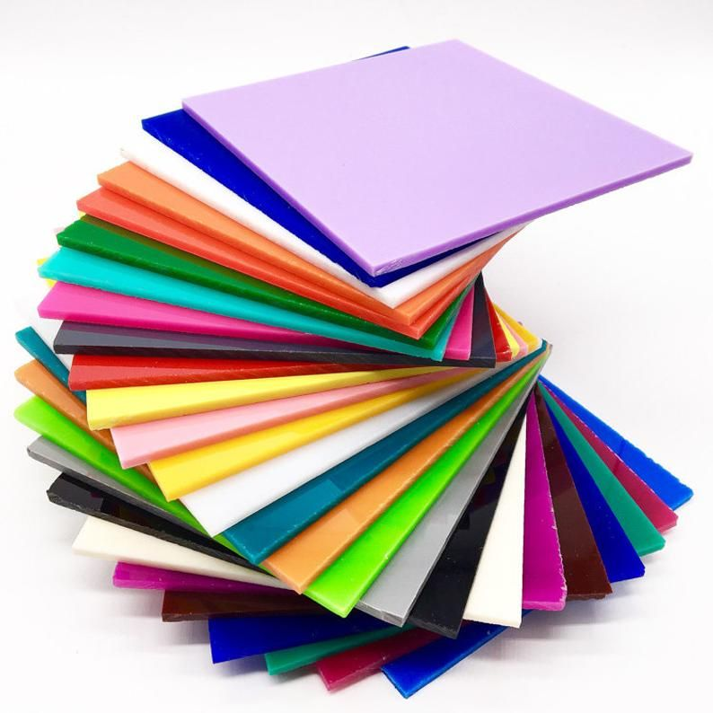 Acrylic Pmma Opaque Color Sheet 3 0mm Thickness Etsy Coloring Sheets Color Set Acrylic Sheets