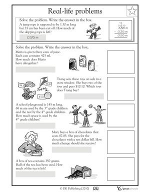 Number Names Worksheets word problem worksheets 2nd grade : Addition Money Problems - Coffemix