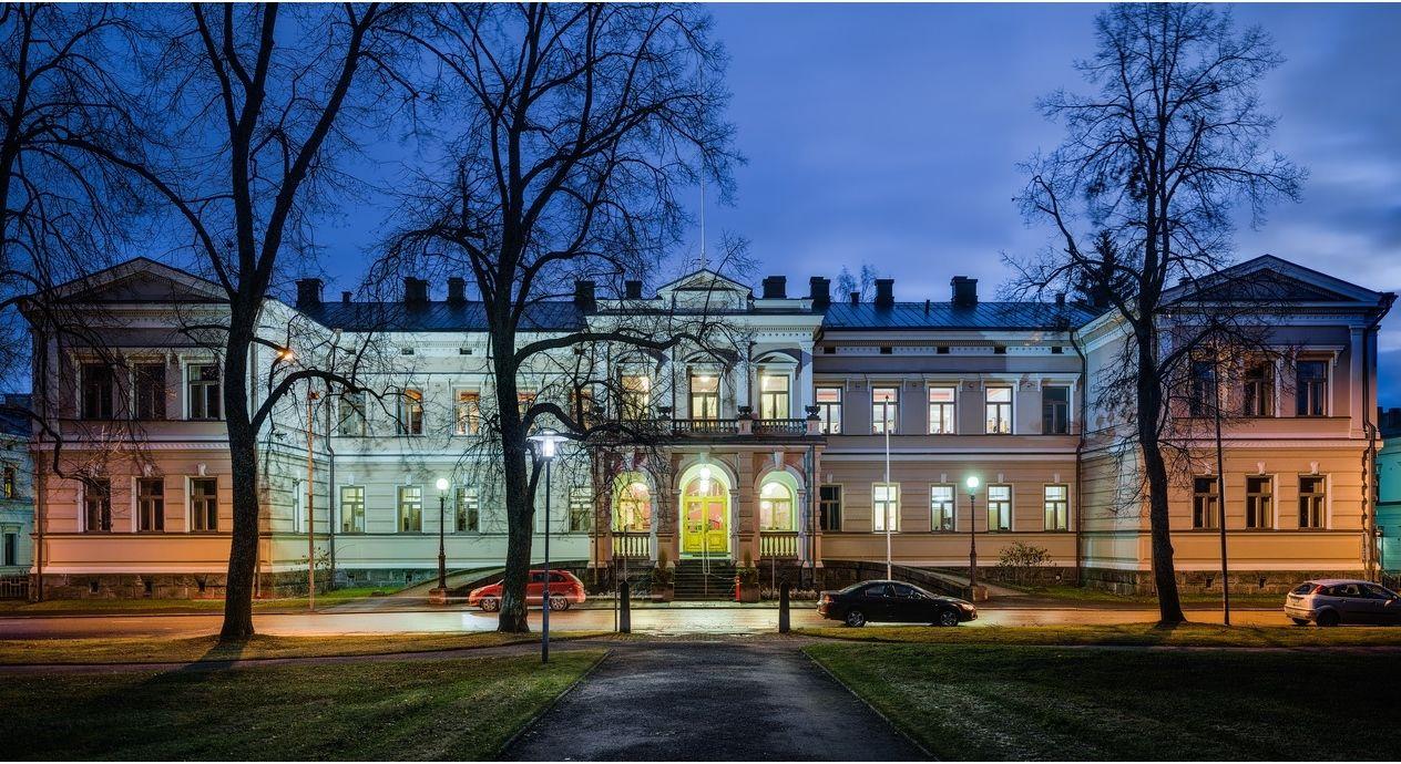 The Provincial Government House of Savonia region in Kuopio | Lääninhallituksen päärakennus, Piispanpuisto