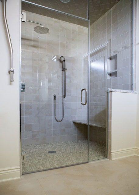 Nice Zero Entry Shower Idea If We Need It Later On Bathroom