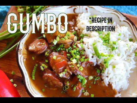 Chicken and Sausage Gumbo | Comfort food | Wolkberg Mountains | How to make | Creole Food | Cajun |