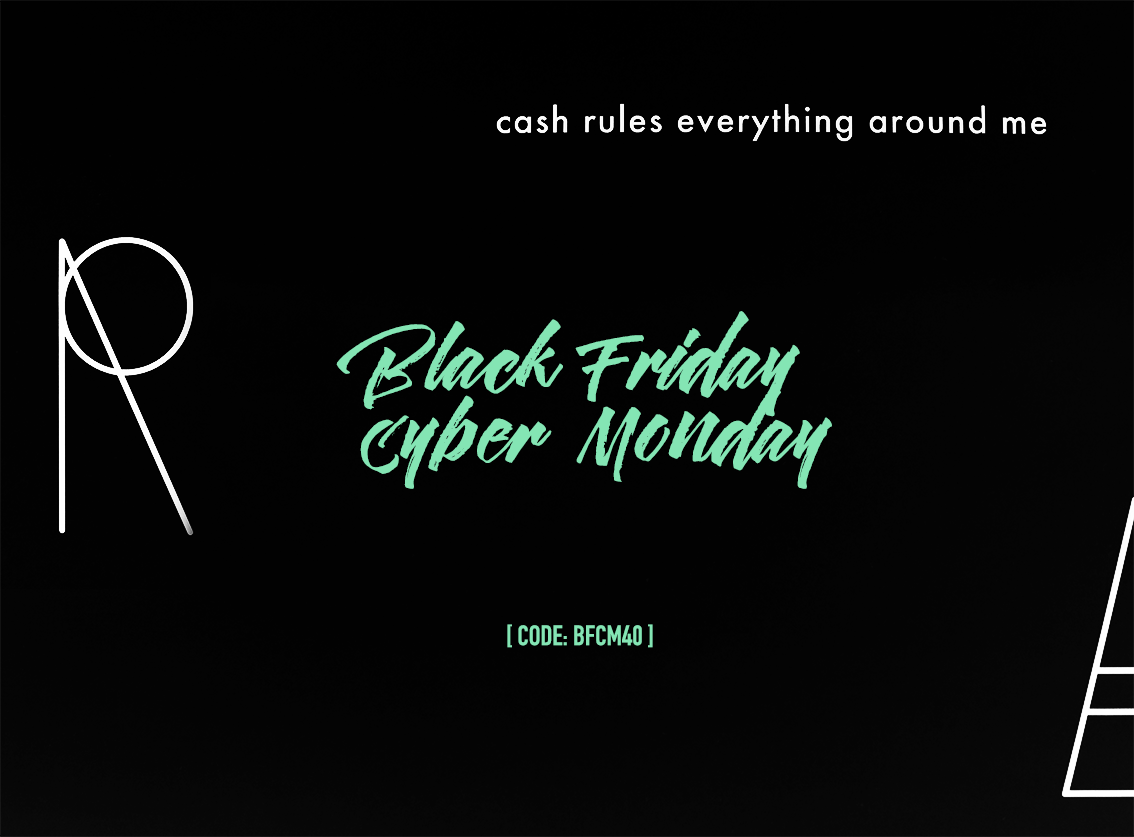 Don't miss our Black Friday – Cyber Monday super sales this year. 40% off if you use the code: BFCM40 during checkout!!! Valid from now on untill the next Tuesday (29-11). So here is a … #blackfriday #cybermonday