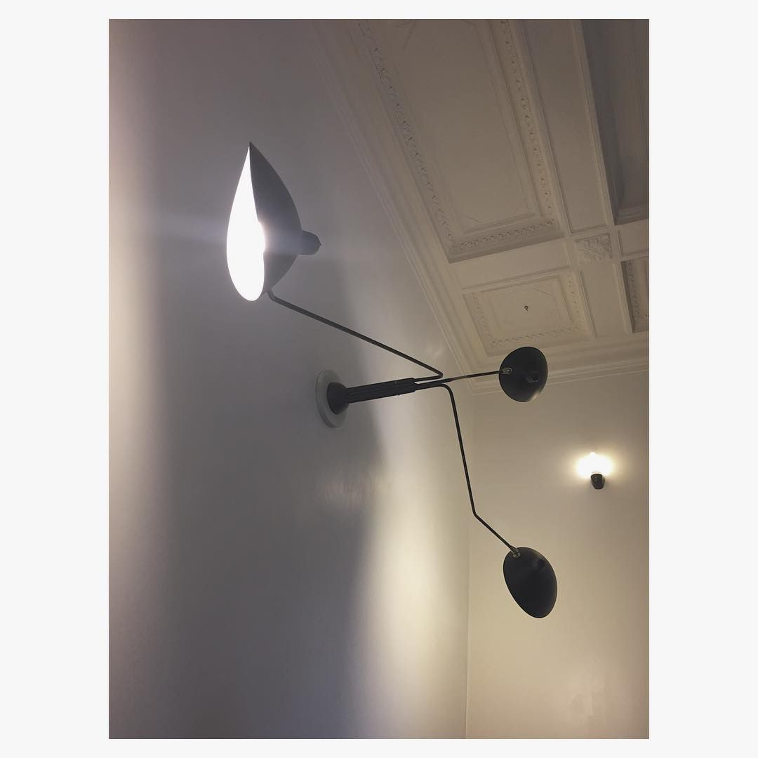 Serge mouille three arm ceiling lamp httpzoralighting zora lighting is premium lighting store specialise in serge mouille replica arubaitofo Images