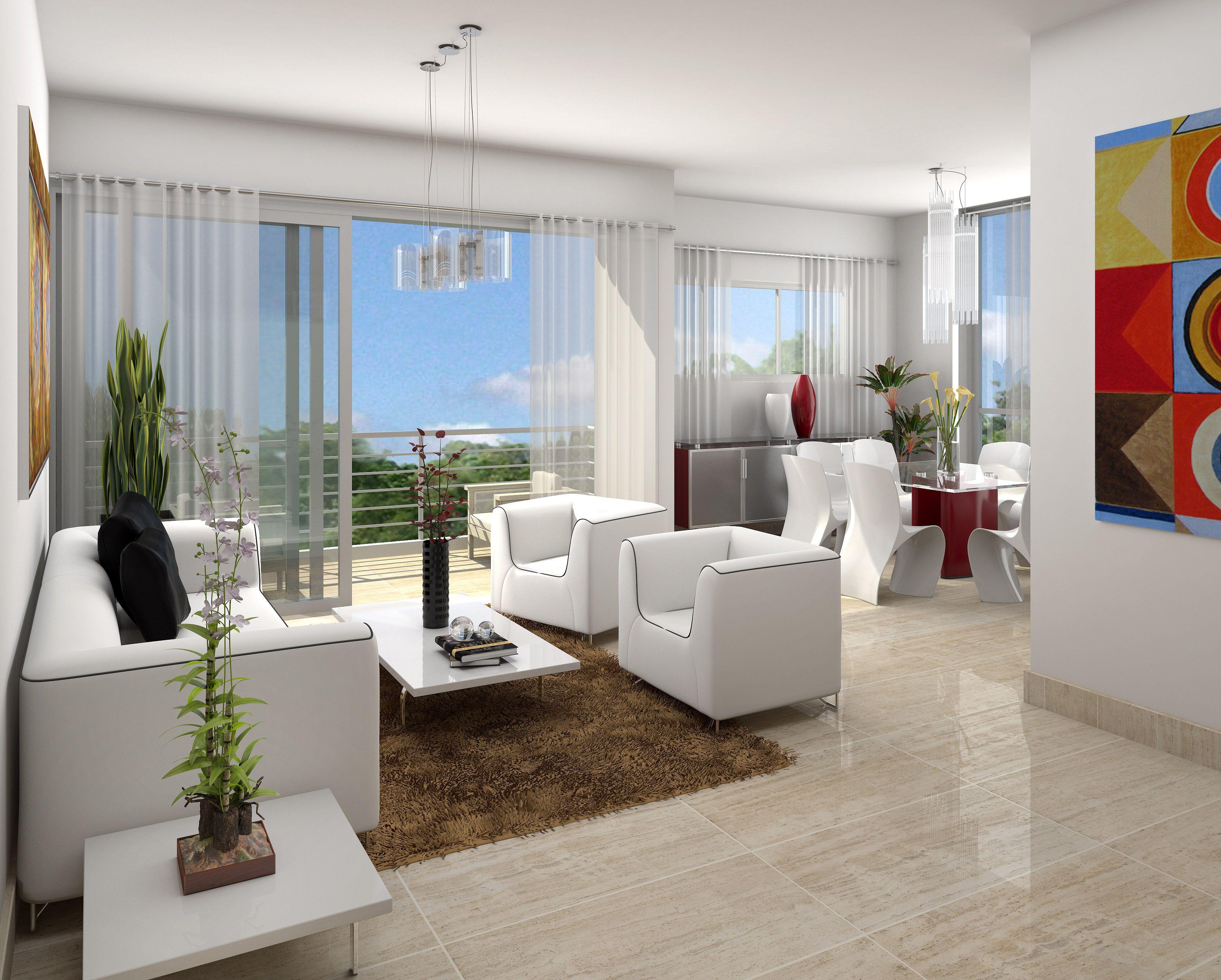 Sala comedor apartamento la diana 4 procasty sala for Diseno de interiores sala comedor