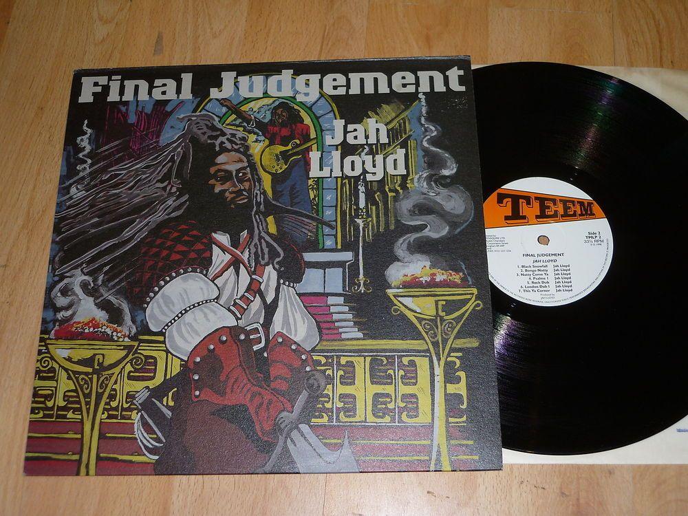 Jah Lloyd Final Judgement Uk Viny Lp Teem Tmlp 2 Https Www Facebook Com Thevinylshed Ref Hl Roots Reggae Reggae Music Reggae