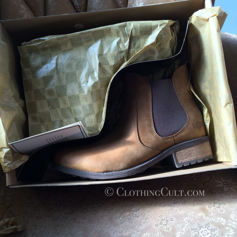 UGG Bonham Chestnut Boots in box • ClothingCult.com
