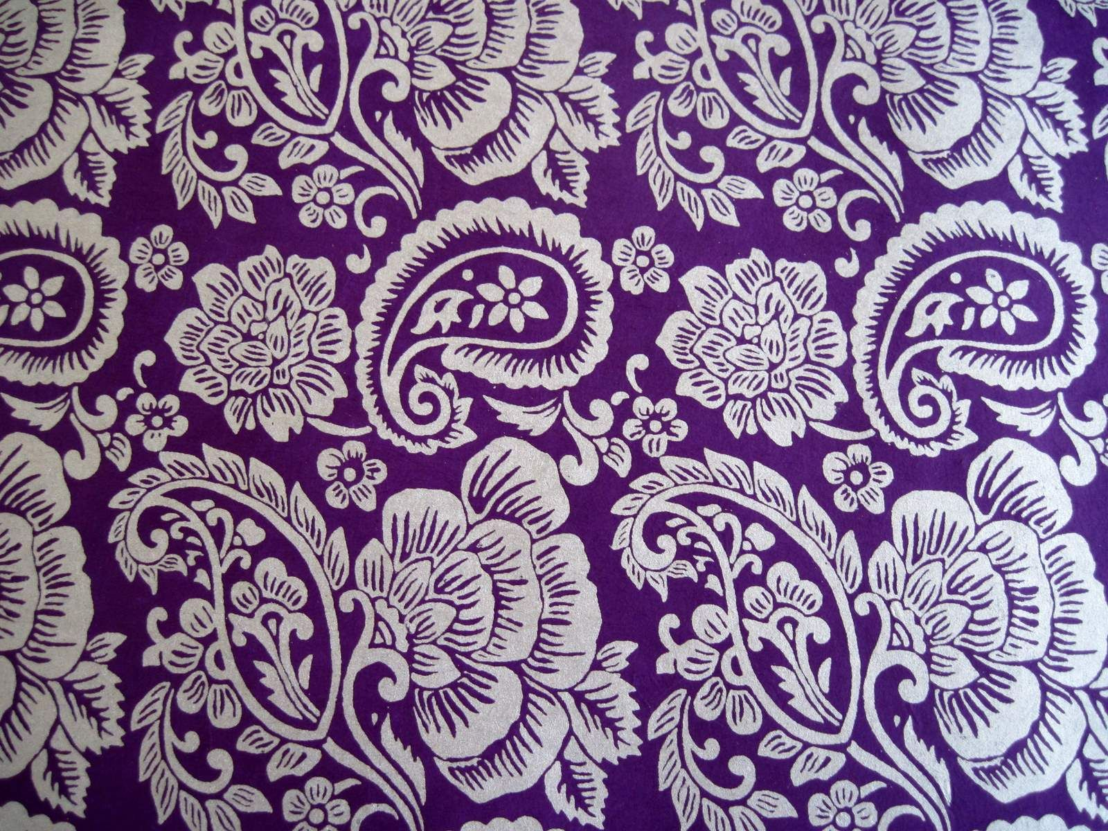 Purple Wrapping Paper - Was At Paper Source One Day