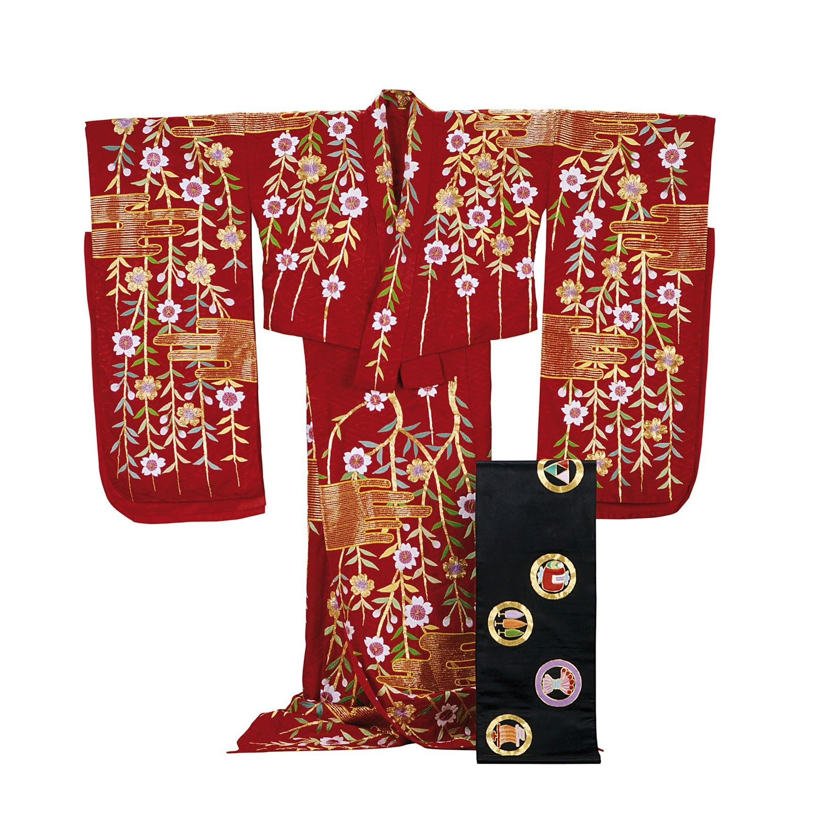 The Art of Kabuki, Japanese Theatre Costumes | Floral motif ...