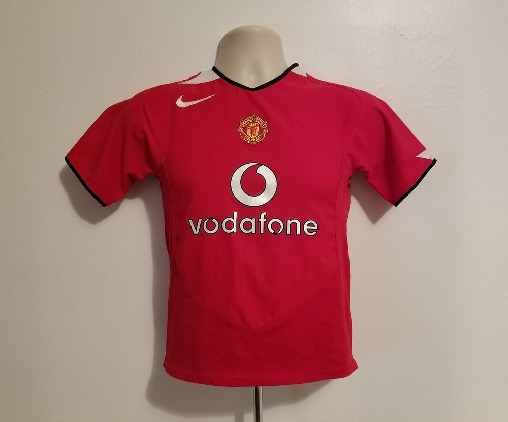 fbcd5d660 Nike Manchester United Vodafone English League Rooney #8 Kids Red Medium  Jersey #Nike #ManchesterUnited