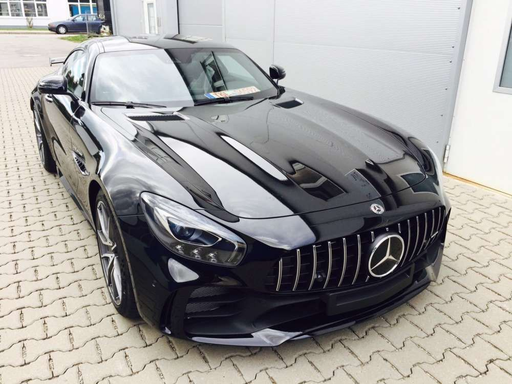 2018 mercedes benz amg gt r new super sports car with. Black Bedroom Furniture Sets. Home Design Ideas