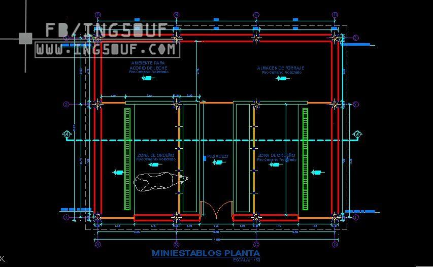 مخطط حظيرة صغيرة للابقار الحلوب اوتوكاد Dwg مخطط حظيرة صغيرة للابقار الحلوب اوتوكاد Dwg مخطط حظيرة صغيرة ل Autocad Audio Mixer Music Instruments