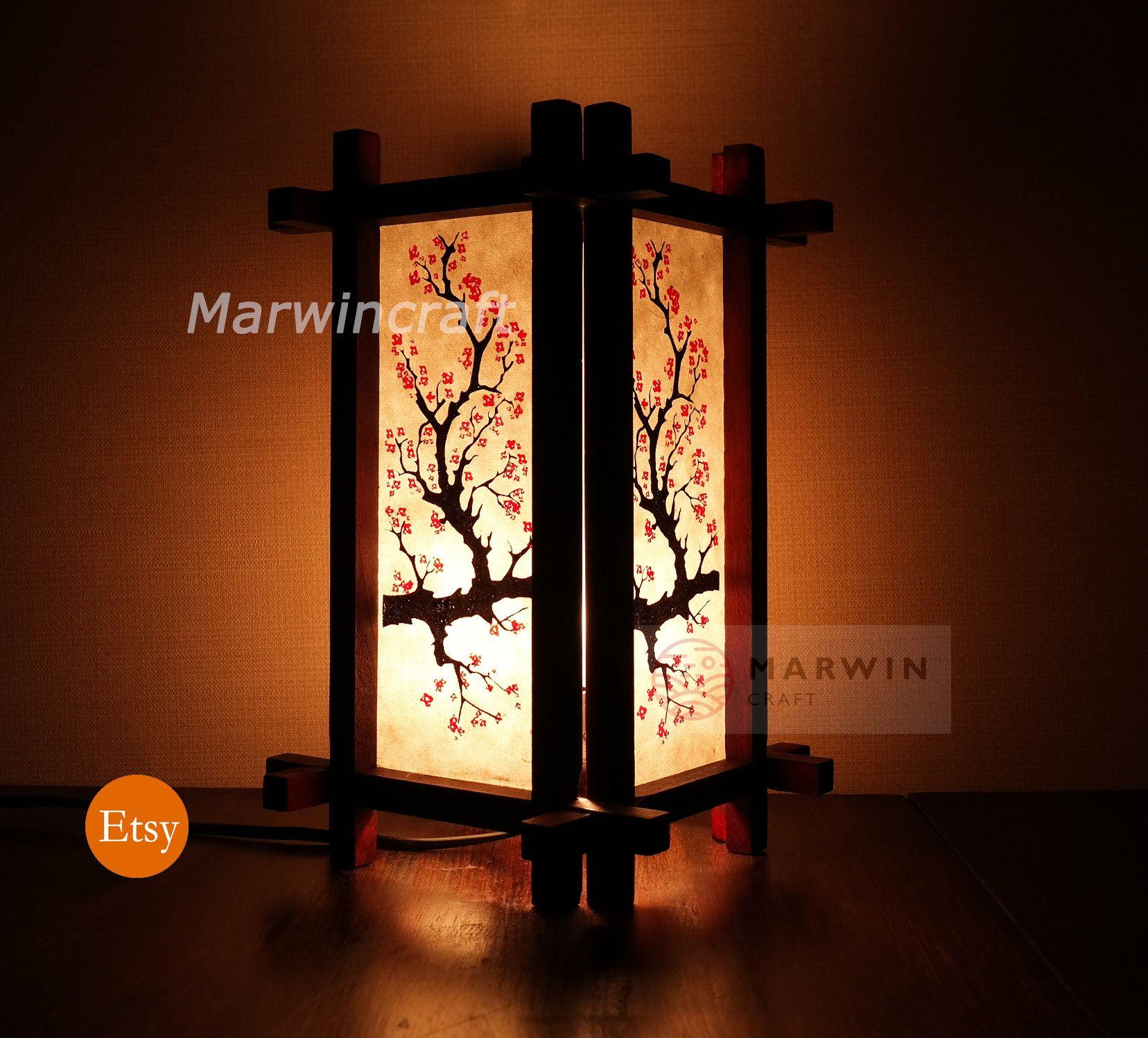 Limited Red Design Asian Oriental Japanese Sakura Doji Zen
