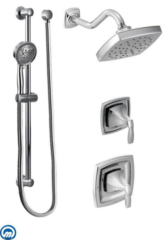 Moen 435 Bathroom Shower Faucets Shower Systems Shower Fixtures