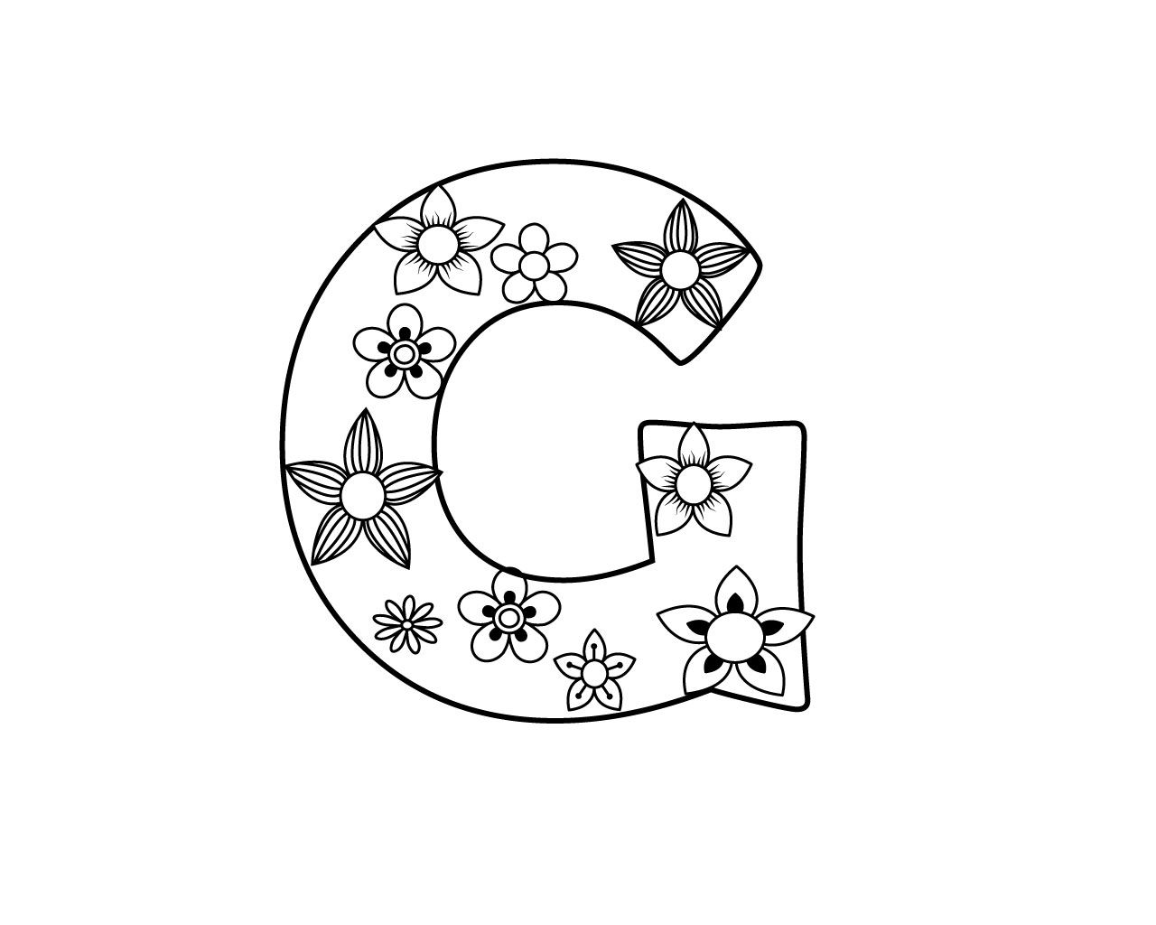 Letter g coloring pages free printable we are providing some amazing letter g coloring pages free printable also seeletter h coloring pages letter g