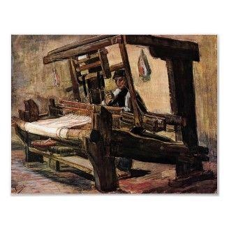 Van Gogh El Tejedor Impresiones Van Gogh Arte Dibujos