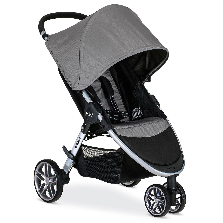 Britax 2017 BAgile Stroller Britax stroller, Stroller