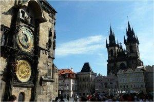 Torre del Reloj en Praga