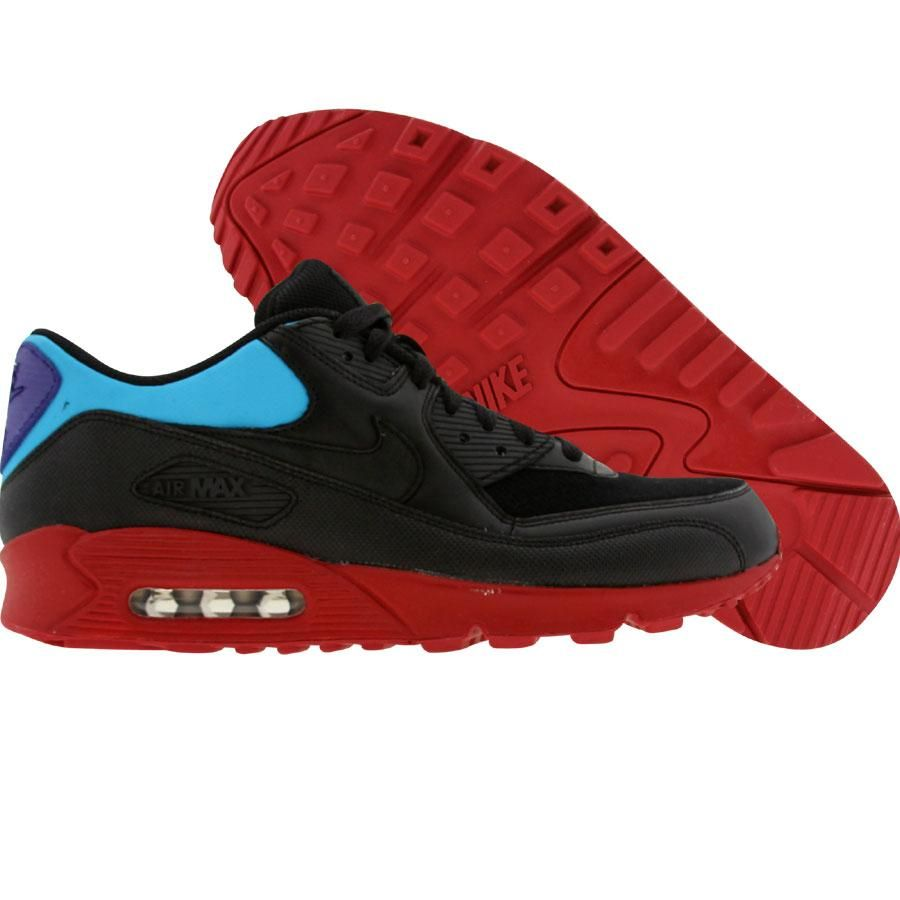 buy popular 7cf1b 03872 ... nike air max 90 premium shagmeister pack (black black vivid blue