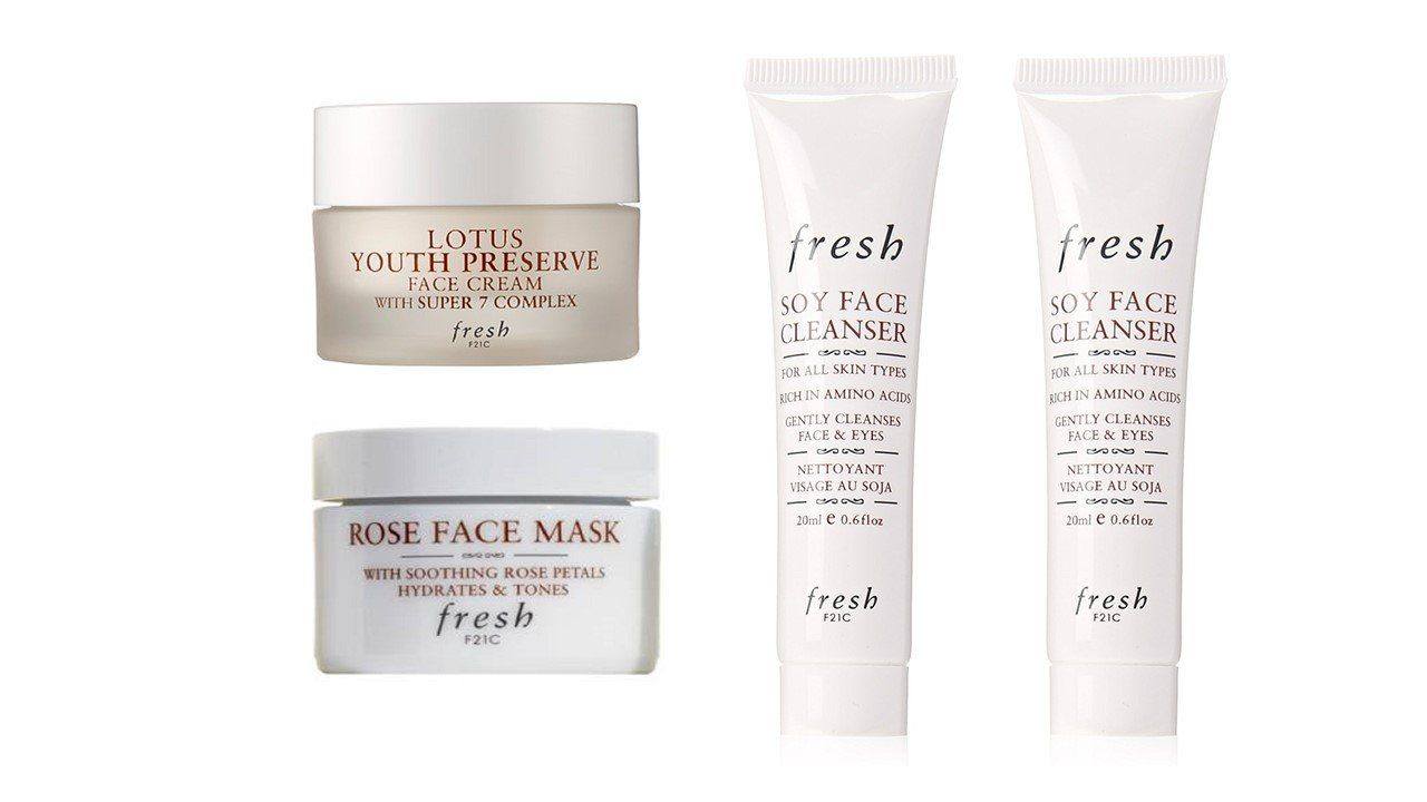 Fresh Skin Care 4 Piece Travel Set * For more information