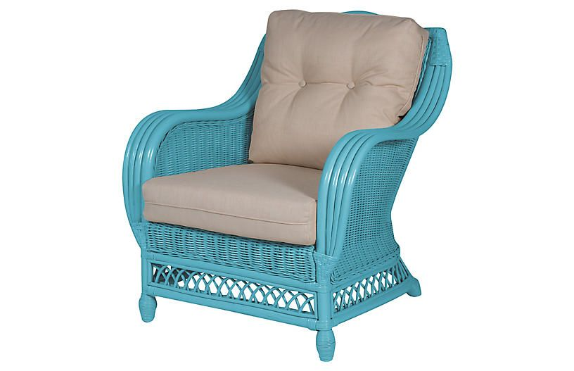 Best Plantation Club Chair Blue Beige In 2019 Club Chairs 400 x 300