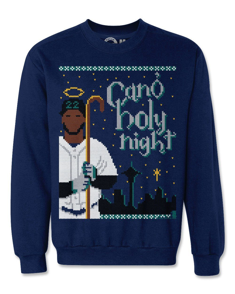 8fb4bf48 Robinson Cano Holy Night Ugly Christmas Sweatshirt | Products ...