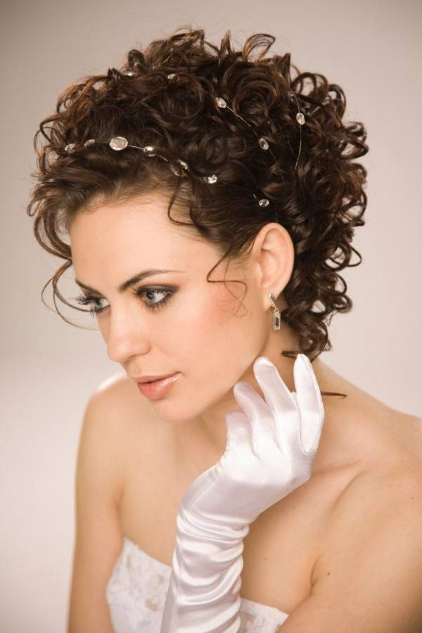 Wedding Hairstyles For Short Natural Curly Hair