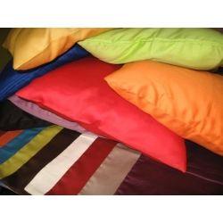jednobarwne poszewki na poduszkę