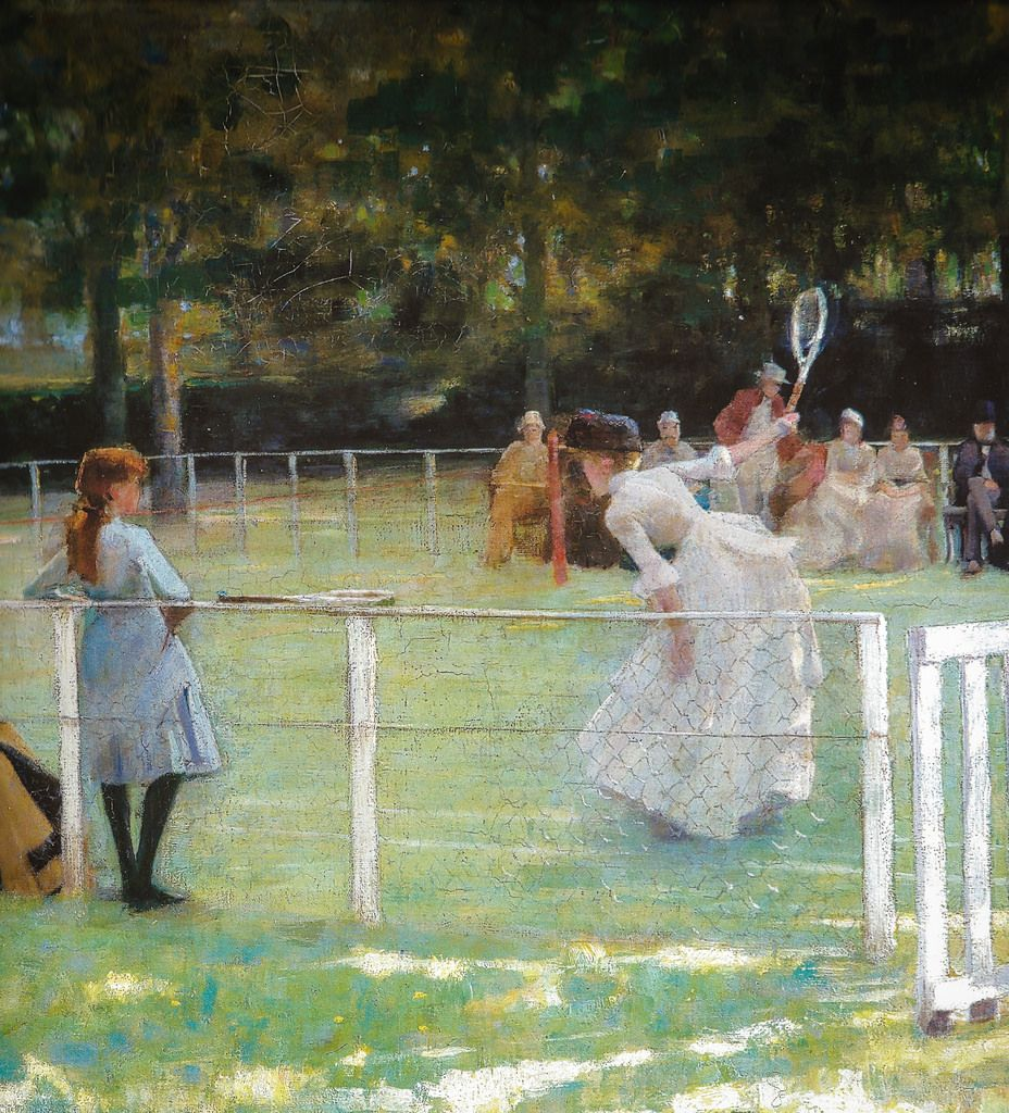 fine art giclee print poster various sizes A Tennis Party Lavery