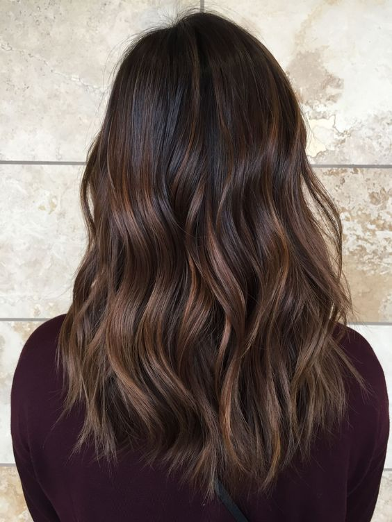 The Subtle Balayage Brunette Hairstyles For Fall And Winter Hope They Can Inspire You And Read The Article Balayage Asian Hair Asian Hair Short Hair Balayage