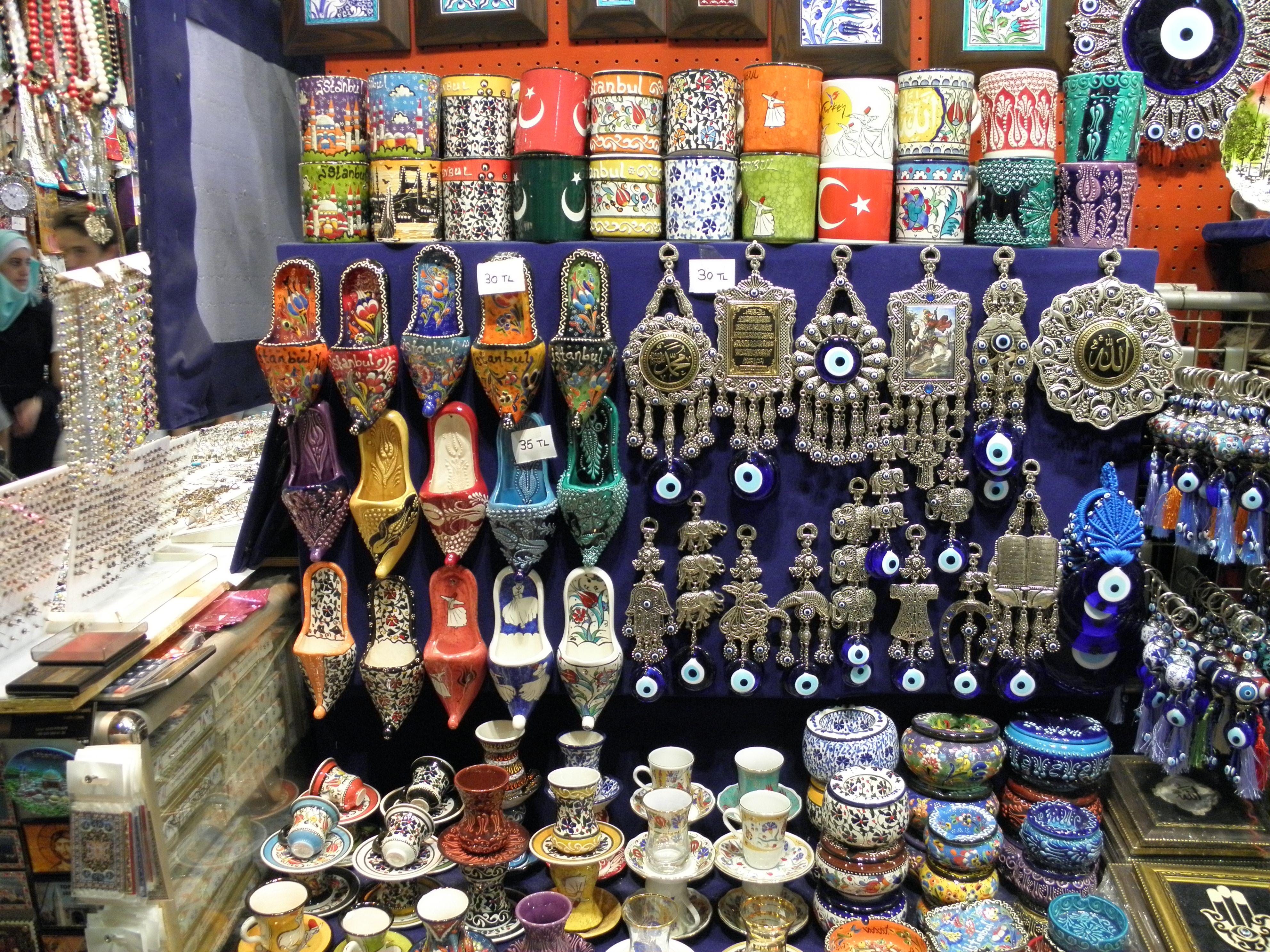 Souvenir shop in the Grand Bazaar, Istanbul, Cruise Holidays   Luxury  Travel Boutique Mississauga, Brampton…   Cruise greek islands, Island  cruises, Istanbul travel