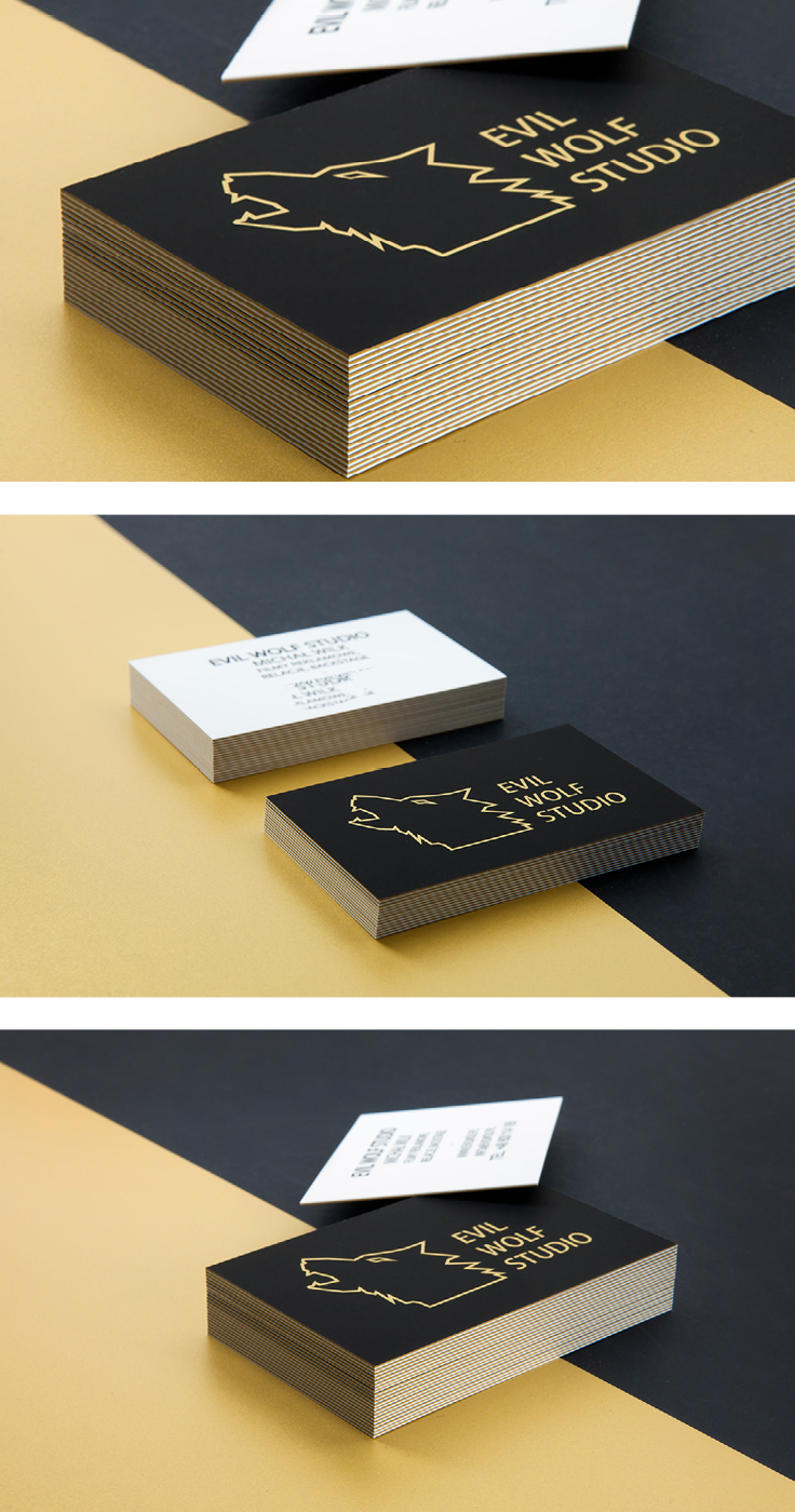 Black and gold business cards made by made by mellow printing house black and gold business cards made by made by mellow printing house based in cracow paper excellence paper quality print friendly print zone colourmoves