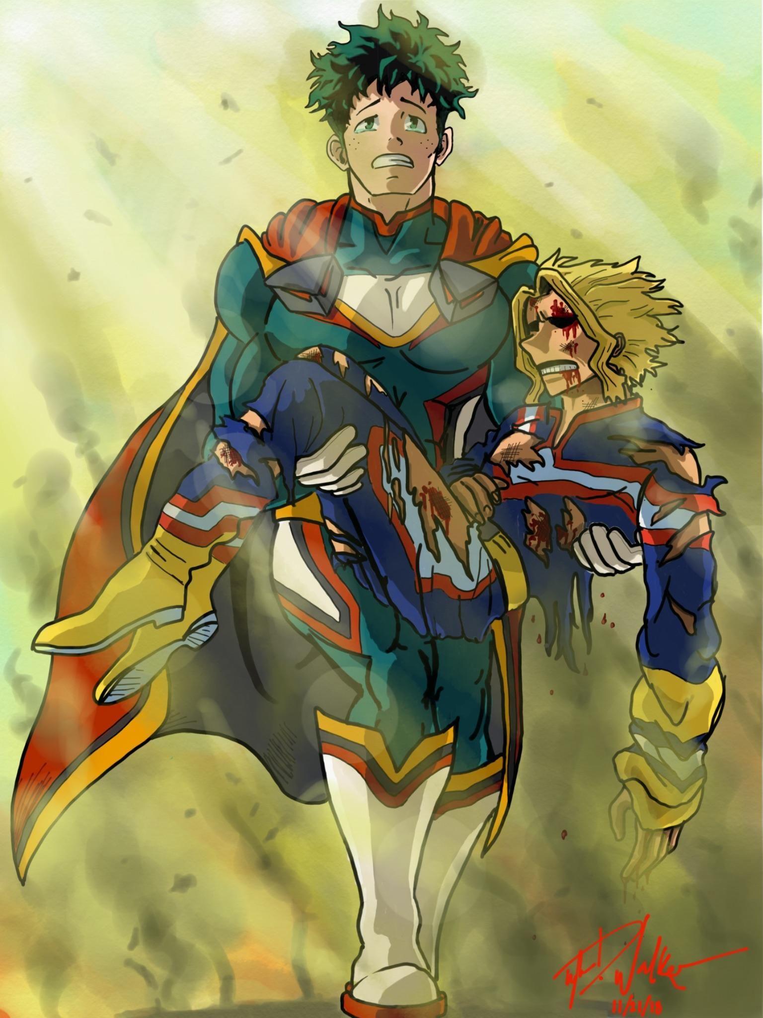My Hero Academia The Manga My hero, My hero academia