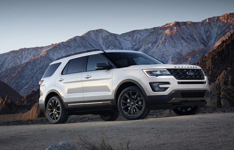Ford Explorer up to 5600 lbs in 2020 Ford explorer sport