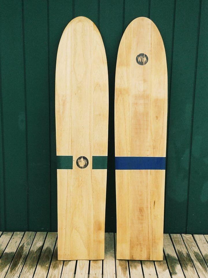 Tablas de surf hechas con maderas recicladas sports for Cosas con madera reciclada