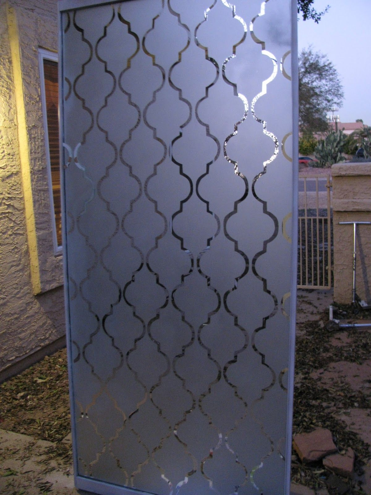 Patterned frosted glass closet doors 15 Cool