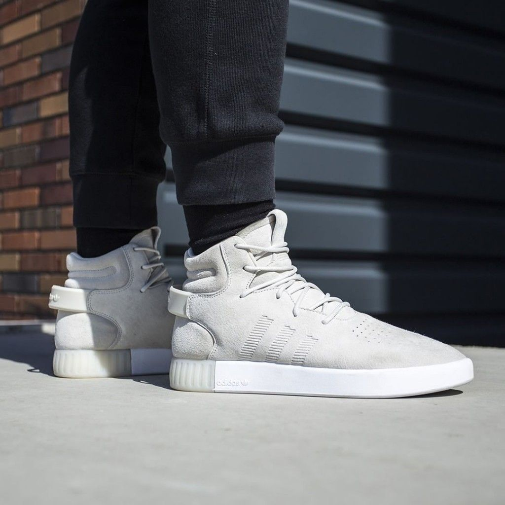 Adidas Mens Tubular Invader Strap Casual Lace Up Karmaloop