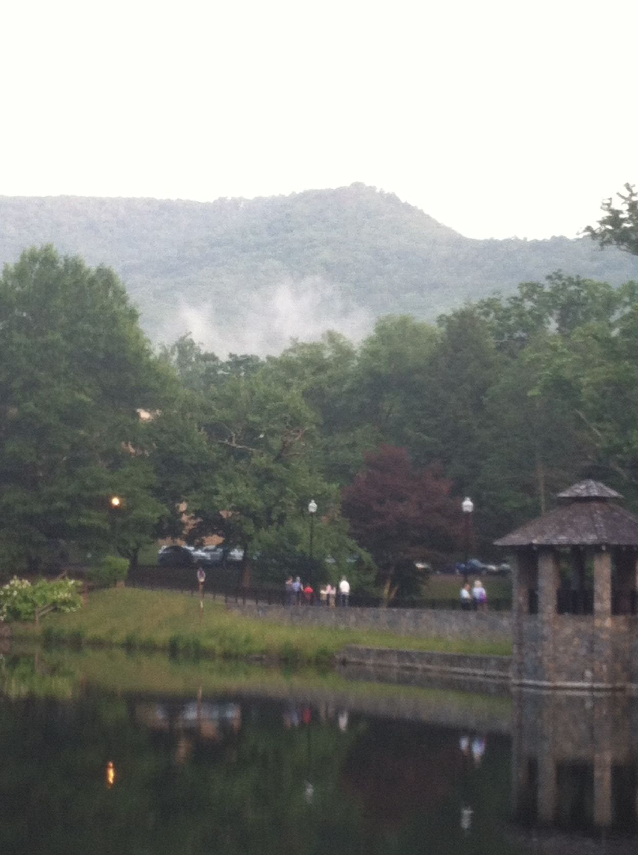 Love how fog settles in the mountains Mountains
