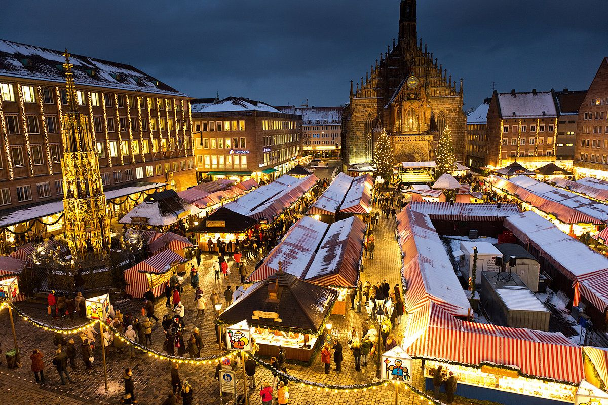 Germany is famous for its Christmas Markets- and there is a good ...
