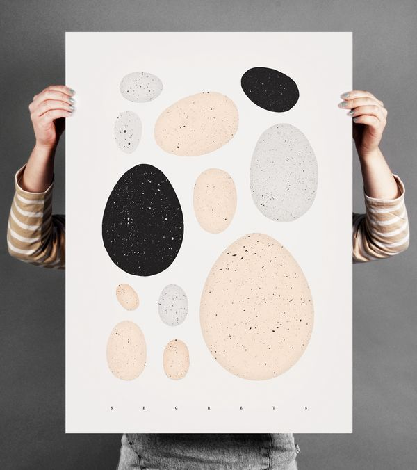 5070 - SECRETS by Lina Forsgren, via Behance