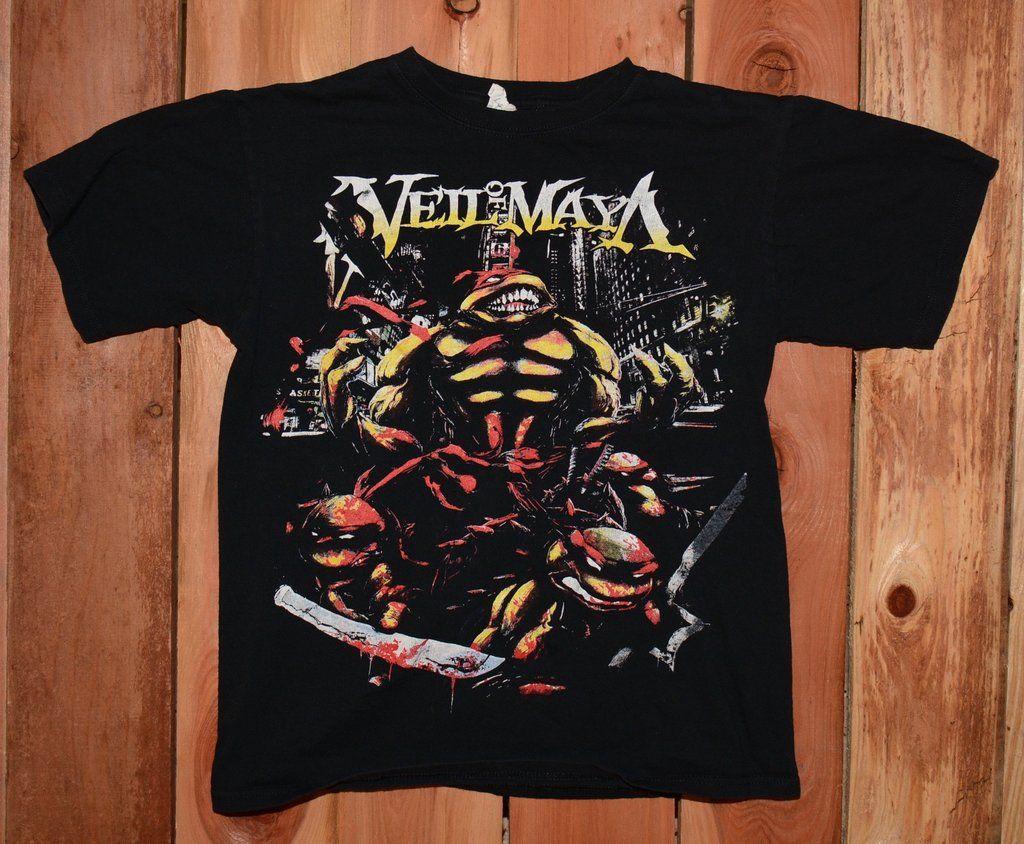 Veil of Maya Graphic Tee Shirt Men's Size Medium #VeilOfMaya #GraphicTeeShirt #Music