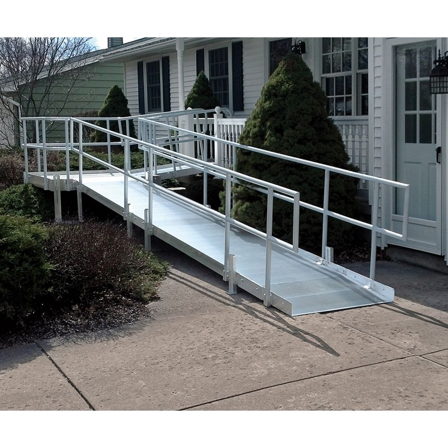 Ramp systems and calculating ramp length idec for Handicap accessible home builders