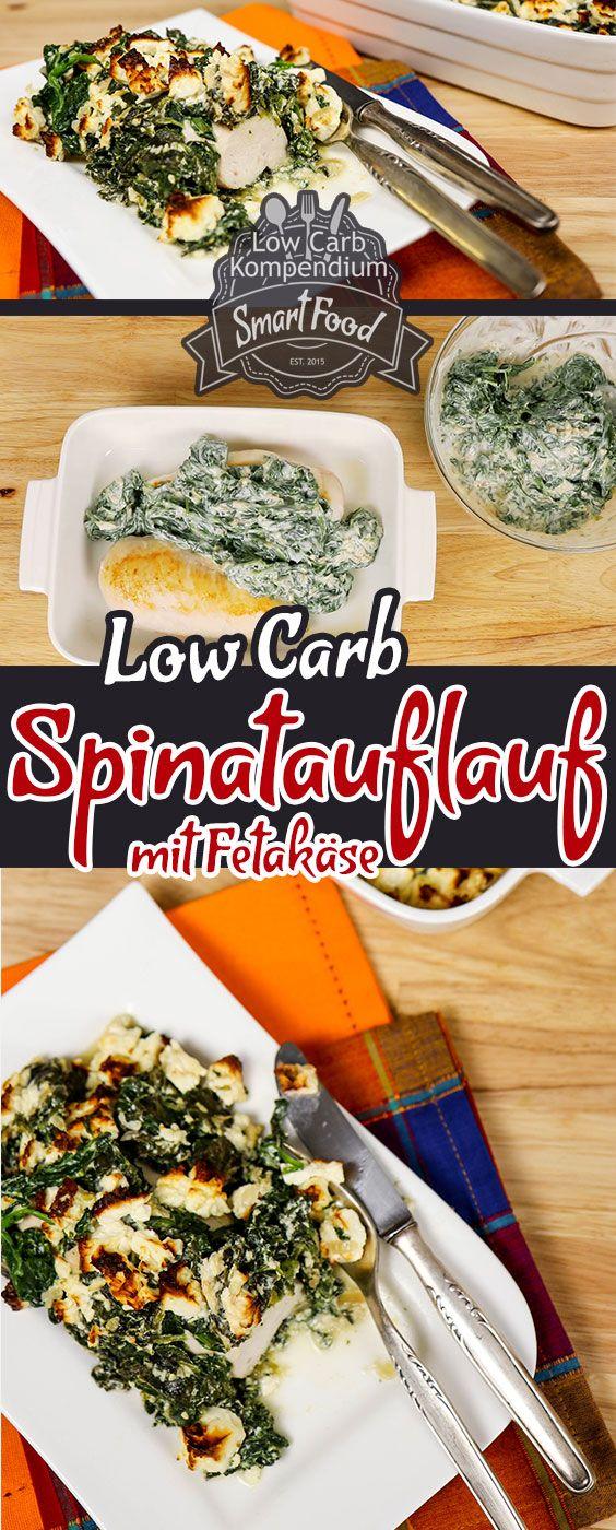 Photo of Spinatauflauf mit Feta & Hähnchenbrust. (Low-Carb für den ganzen Tag)