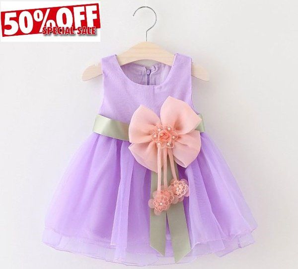 Girls Dress Lavander Dress Newborn Dress Formal Wear Party Costume