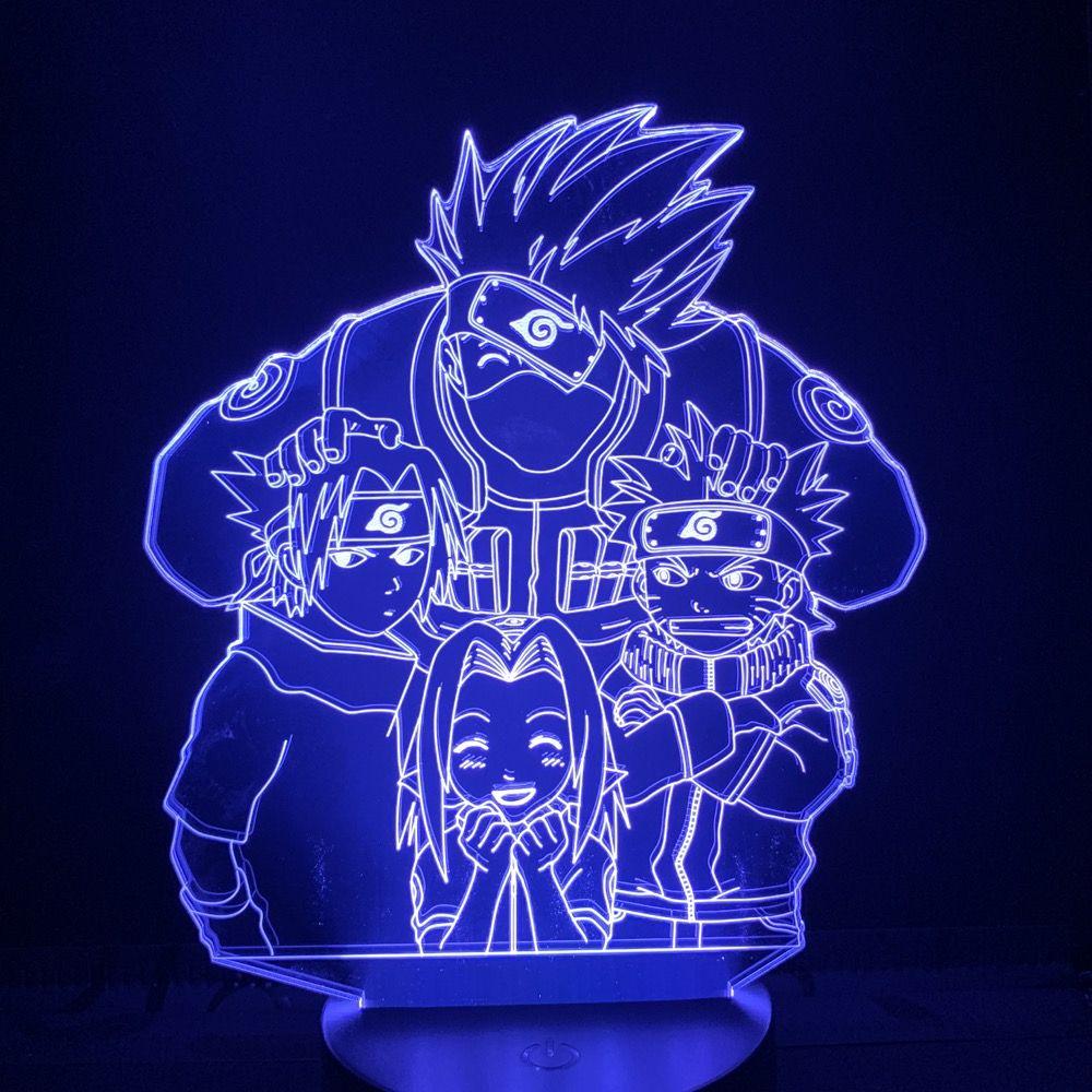 Kaufen Sie 3d Naruto Friend Led Lamp Auf Www Jewel123 Com Kostenloser Versand In 185 Lander 45 Tage Geld Zuruck Garantie In 2020 Anime Decor Otaku Room Naruto